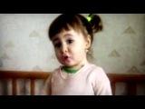 Девочка говорит не папа,а батя!:D
