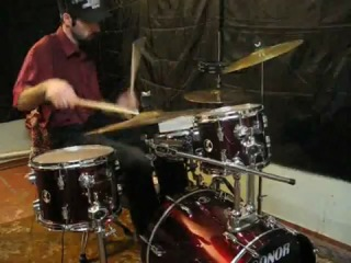 DnB drummer DJ dagdrum -- Noisia-Block_Control (2009-Sonor drumms)